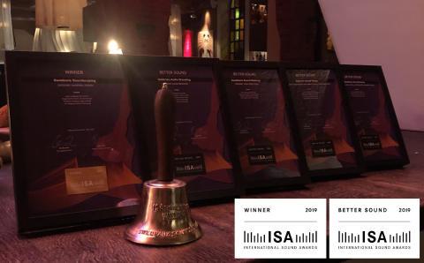 Lexter Ljuddesign vinnare i International Sound Awards 2019