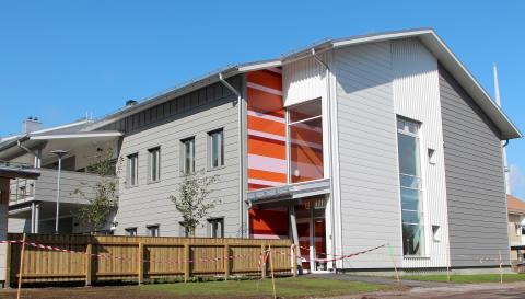 Modernt demensboende invigt i Piteå