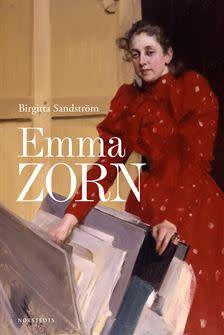 Birgitta Sandström signerar sin bok om Emma Zorn