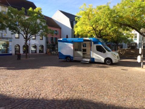 Beratungsmobil der Unabhängigen Patientenberatung kommt am 9. August nach Zweibrücken.