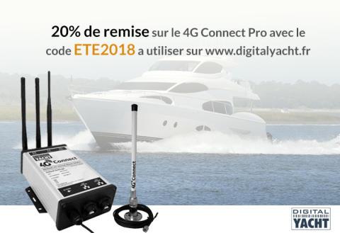 Offre d'été pour vos lecteurs - Digital Yacht