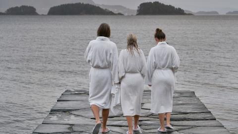 SPA am Meer: Der Hardangerfjord