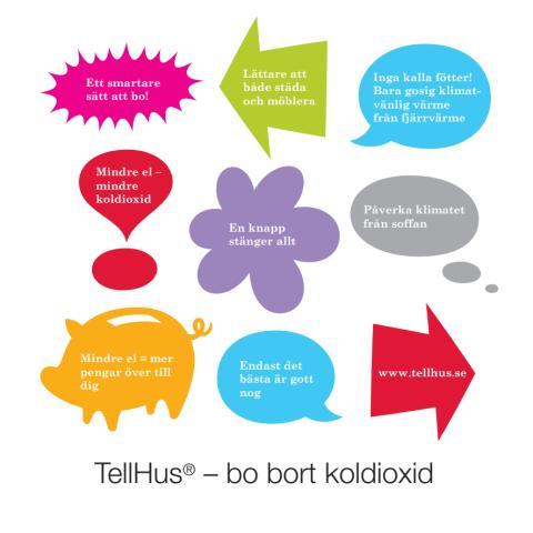 TellHus - bo bort koldioxid