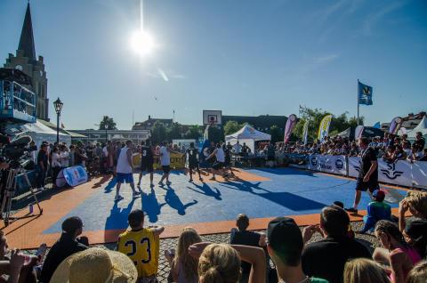 Sverigefinalen i 3x3-basket spelas i samband med Malmöfestivalen