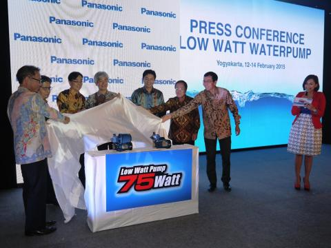Panasonic Introduces First Low Watt Water Pump in Indonesia