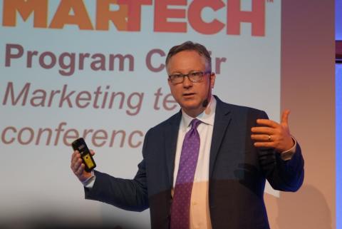 """Marketing tech-gurun Scott Brinker talade på Avaus Marketing Tech Summit: """"Marknadsföringsteknologi kommer snart att vara en fråga om liv och död"""""""