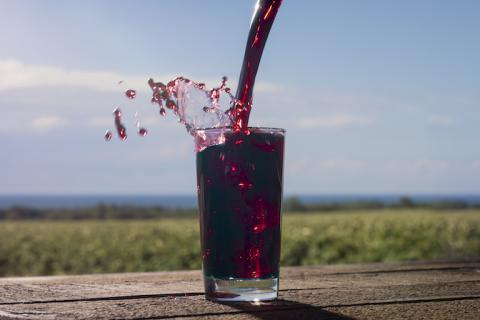 Concord grape is most affordable superfruit juice