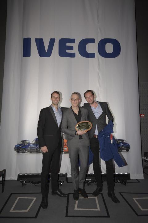 Kihlströms Transport & Lastbilscenter utsett till årets Iveco-återförsäljare
