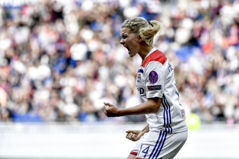 Ada Hegerberg i Champions League-finalen på TV3 og Viaplay