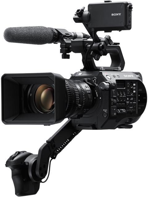 La nouvelle caméra FS7 II élargit la série FS de Sony