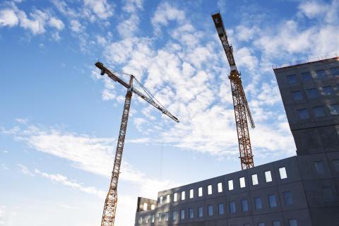 Betong fortsätter att dominera Sveriges bostadsbyggande enligt SCB