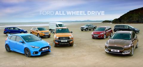 Imponerende salgsvekst for Ford i Norge