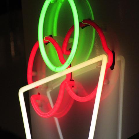 Neonskylt Il gilata