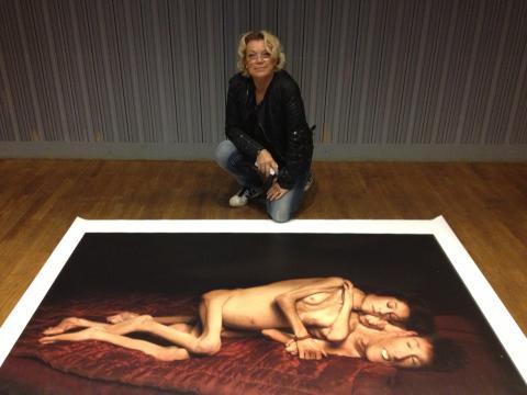 Elisabeth Ohlson Wallin i världsunik utställning på Kulturhuset 26-27 juni