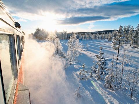 Vintertrafik på Inlandsbanan – nu öppnar bokningen