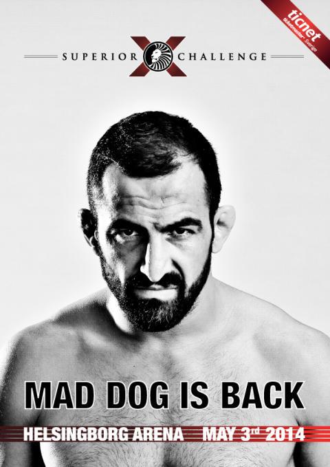Mad Dog är tillbaka i Superior Challenge X Helsingborg
