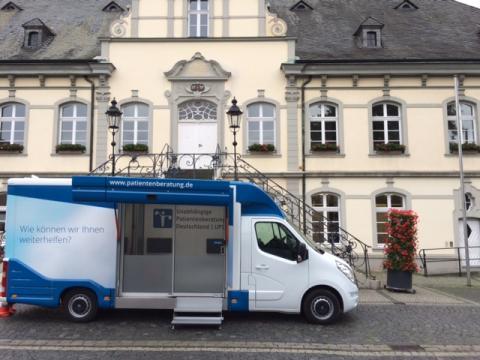 Beratungsmobil der Unabhängigen Patientenberatung kommt am 7. November nach Lippstadt.