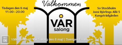 Fjorton frilansande kreatörer har Vår Salong i Kungsträdgården