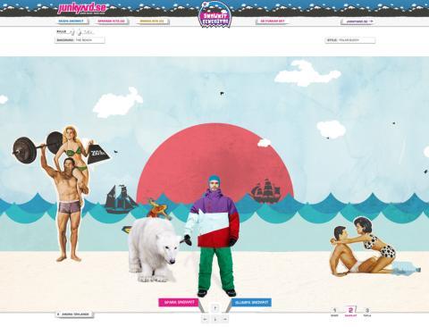 junkyard.se lanserar digital app för att välja vinterdressen