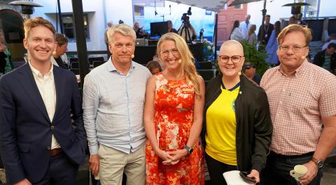 """LINK arkitekturs seminarium """"Lönsamt byggande utan koldioxidutsläpp – går det?"""" i Almedalen 2019"""