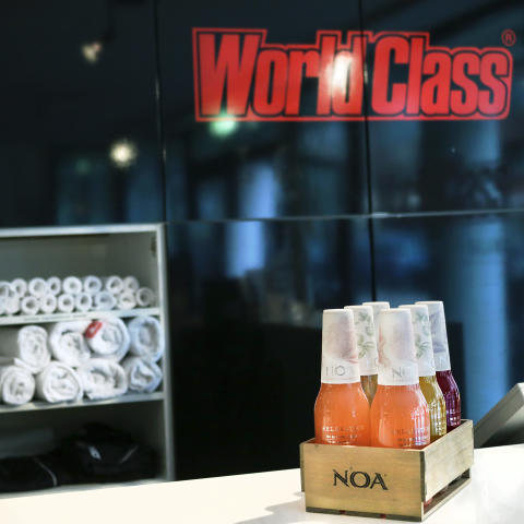 NOA Relaxation på World Class