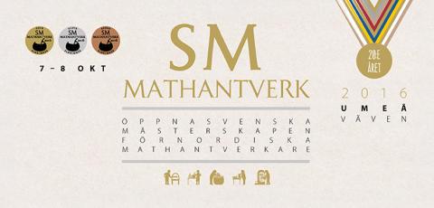 Alla vinnare på SM i Mathantverkare 2016