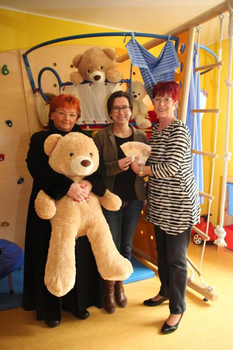 Aktive Bürgerhilfe sammelte wieder für Bärenherz