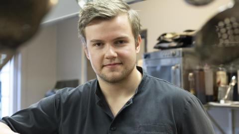 Max Apelqvist, kökschef Restaurang Astern