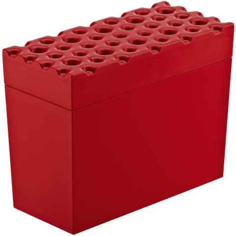 Knäckebrödsburk, röd