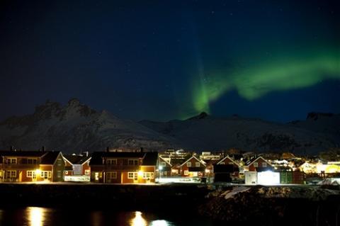 SAS satsar på direktflyg till norrskenet i Tromsø