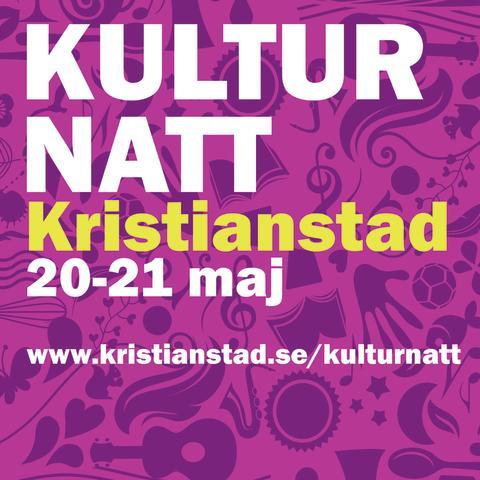 Kulturnatt Kristianstad är tillbaka
