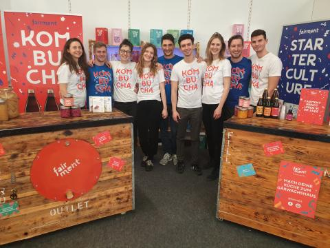 Team des Start-ups Fairment