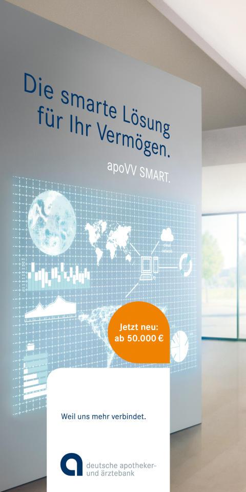 apoBank startet Vermögensverwaltung ab 50.000 Euro