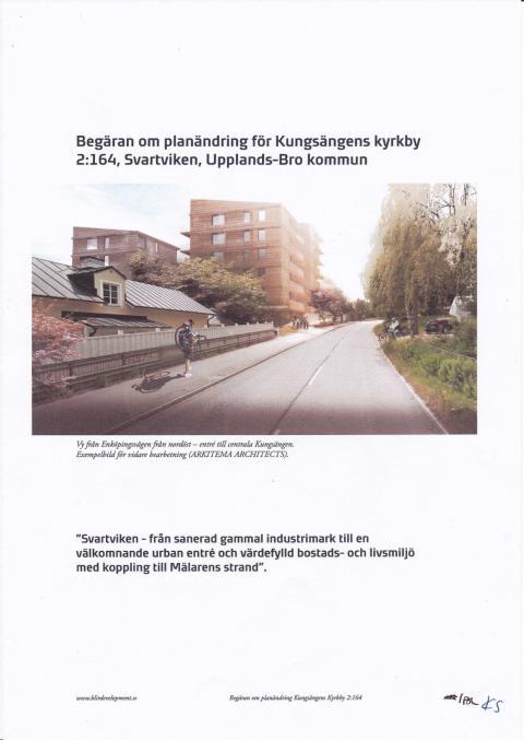 Svartviks Strand, begäran om planändring