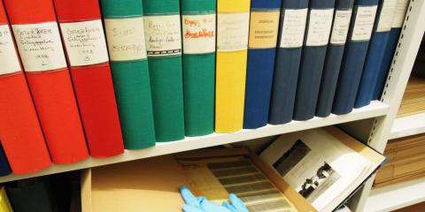 Unga arkiverar kulturarvsmaterial