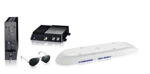Hi-res image - Cobham Aerospace Communications - Cobham AVIATOR 300D satcom system