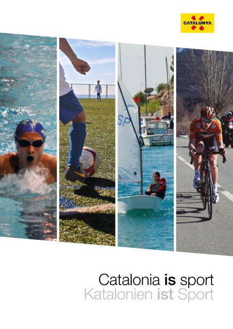 New catalogue - Catalonia is Sports