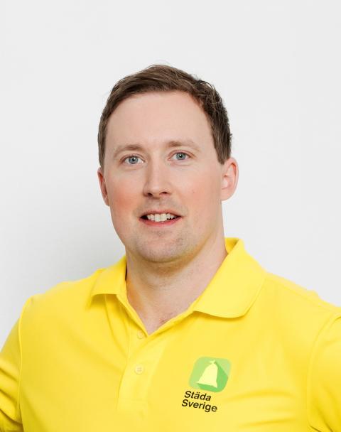 Anton Hedlund, projektledare Städa Sverige