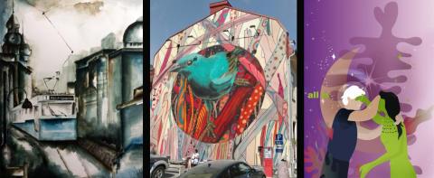 Pressinbjudan: 17 augusti avslöjas vilka internationella och lokala konstverk som målas upp  i Göteborg