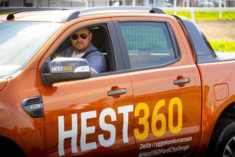 Hest360FordChallenge Ryggekonkurranse Øvrevoll 25.08 2019 Kenneth Hovland, Egersund, Rogaland