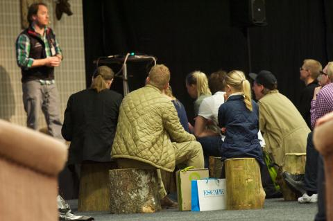 Ola Skinnarmo på Nordic Outdoor 2013