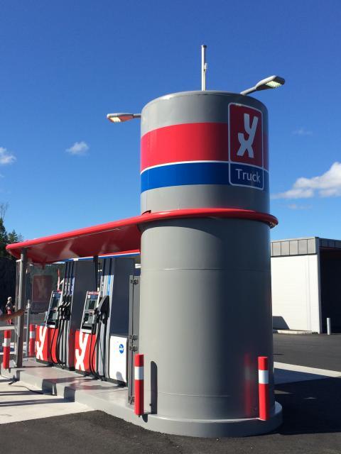 YX Truck-anläggning i Norge