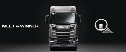 Scania deltager på transportmessen Transport 2017