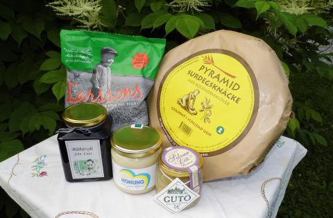 Vinnande Svensk Landskapsmat, från Jokkmokk i norr till Lund i söder - 61 produkter från 37 företag vinner diplom i Jakten på Sveriges bästa landskapsmat