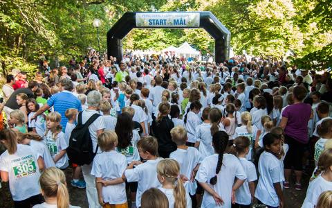 Barnens egen idrottsfest – Idrottens dag i Hagaparken