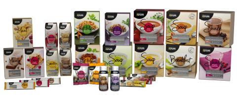 Itrim lanserar brett sortiment av måltidsersättningar