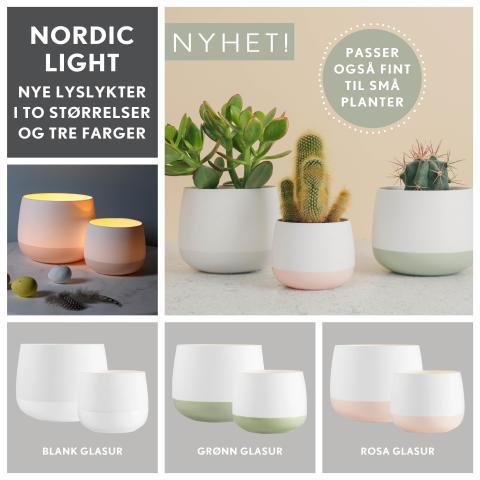 Ny Nordic Light i vårlige farger