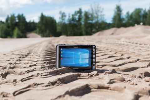 ALGIZ 8X ultra-rugged tablet