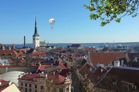 Ny attraktion ger hisnande vy över Tallinn