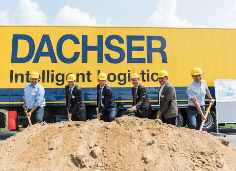 DACHSER beginnt Bauarbeiten für neues Logistikzentrum Freiburg